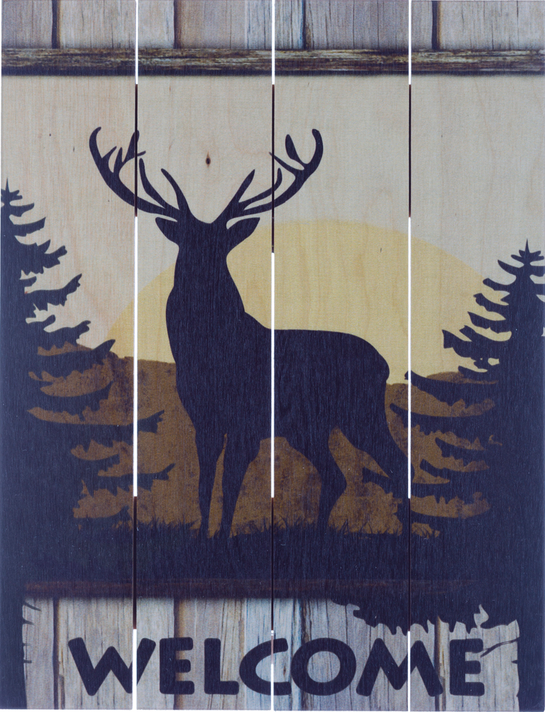Deer Welcome – BEECHDALE FRAMES
